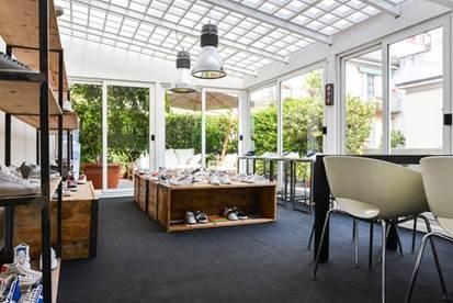 Lo showroom D.A.T.E. a Milano