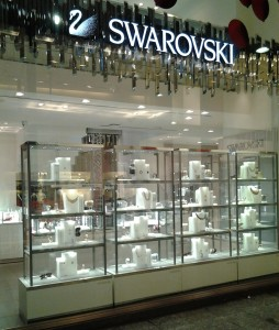 vetrine Swarosky